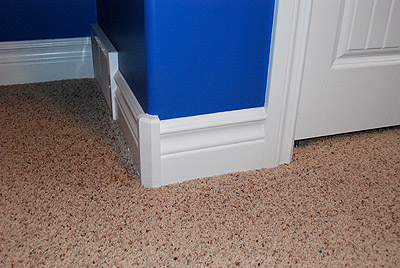 Decorative Wood Molding corners