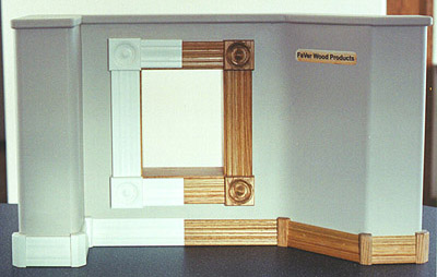 FaVer Wood Products Display