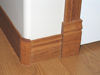 Custom Wood Rosettes Casing Blocks